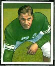 Jonathan Jenkins 1950 Bowman football card