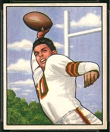 Otto Graham 1950 Bowman football card