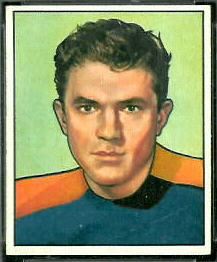 Al Baldwin 1950 Bowman football card