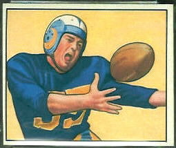 Tom Fears 1950 Bowman football card