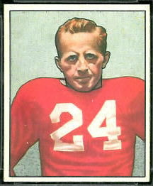 John Cochran 1950 Bowman football card