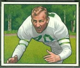 Al Wistert 1950 Bowman football card
