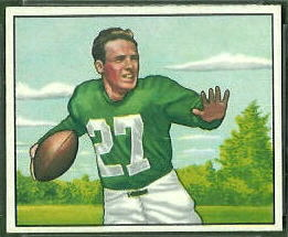 Clyde Scott 1950 Bowman football card