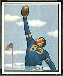 Bill Wightkin 1950 Bowman football card