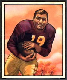 Bob Goode 1950 Bowman football card