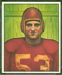 Al Demao 1950 Bowman football card