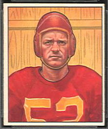 Harry Gilmer 1950 Bowman football card