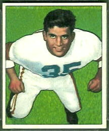 Alex Agase 1950 Bowman football card
