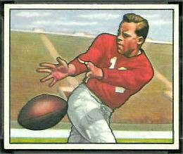 Emil Sitko 1950 Bowman football card
