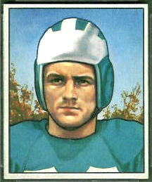 Dan Sandifer 1950 Bowman football card