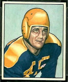 Dick Wildung 1950 Bowman football card