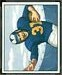 Dick Hoerner - 1950 Bowman football card #86