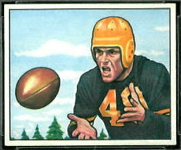 Jerry Shipkey 1950 Bowman football card