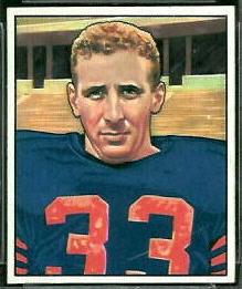 Fred Morrison 1950 Bowman football card