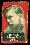 Dick Clark 1950 Topps Felt Backs football card