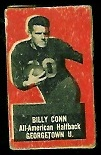 Billy Conn 1950 Topps Felt Backs football card