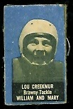 Lou Creekmur 1950 Topps Felt Backs football card