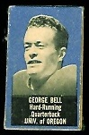 George Bell 1950 Topps Felt Backs football card