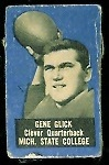 Gene Glick 1950 Topps Felt Backs football card