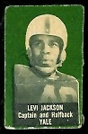 Levi Jackson 1950 Topps Felt Backs football card