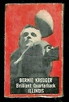 Bernie Krueger 1950 Topps Felt Backs football card