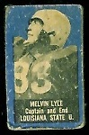 Melvin Lyle 1950 Topps Felt Backs football card