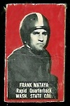 Frank Mataya 1950 Topps Felt Backs football card