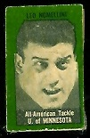 Leo Nomellini 1950 Topps Felt Backs football card