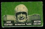 Ernie Stautner 1950 Topps Felt Backs football card