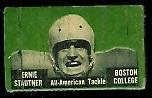 Ernie Stautner 1950 Topps Felt Backs football card