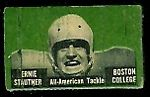 1950 Topps Felt Backs Ernie Stautner