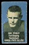Don Stehley 1950 Topps Felt Backs football card