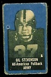 Gil Stevenson 1950 Topps Felt Backs football card
