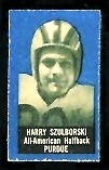 Harry Szulborski 1950 Topps Felt Backs football card