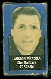 Langdon Viracola 1950 Topps Felt Backs football card