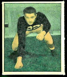 Leon Hart 1951 Berk Ross football card