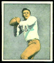Doak Walker 1951 Berk Ross football card