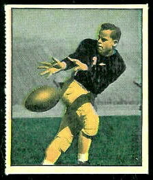 Emil Sitko 1951 Berk Ross football card