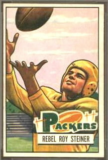 Roy Steiner 1951 Bowman football card