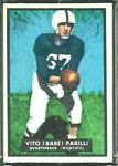 1951 Topps Magic Babe Parilli