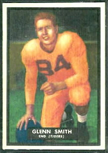Glenn Smith 1951 Topps Magic football card
