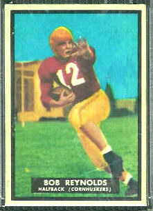 Bob Reynolds 1951 Topps Magic football card