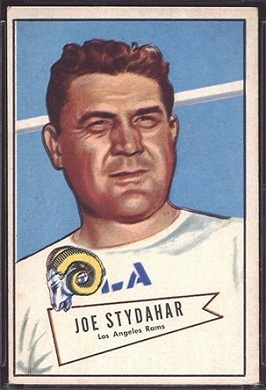 Joe Stydahar 1952 Bowman Large football card