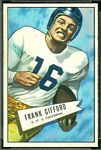 1952 Bowman Small Frank Gifford