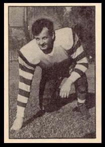 Robert Marshall 1952 Parkhurst football card