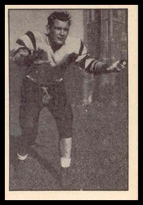 Tom Harpley 1952 Parkhurst football card