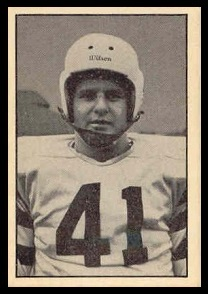 Robert McClelland 1952 Parkhurst football card