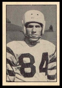 Rod Smylie 1952 Parkhurst football card