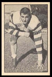 Fred Black 1952 Parkhurst football card