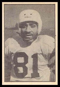 Ulysses Curtis 1952 Parkhurst football card